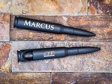 Engraved .50 Caliber Bullet Bottle Opener - Black
