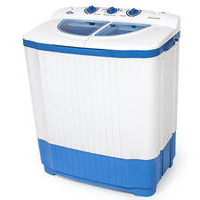 TecTake 4,5 kg Lave-linge Compact - Blanc (400777)