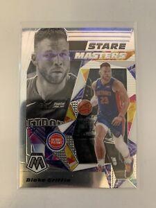 2019-20 Panini Mosaic Basketball Blake Griffin STARE MASTERS #14 Pistons