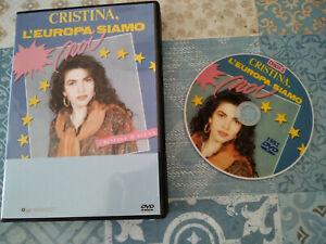 """DVD SET-BOX SERIE TV FUORI CATALOGO """"CRISTINA L'EUROPA SIAMO NOI"""" 1991 C,D'AVENA"""