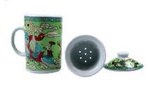Vajillas cerámica color principal verde