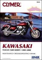 VULCAN KAWASAKI 1600 SHOP MANUAL SERVICE REPAIR BOOK CLYMER HAYNES CHILTON