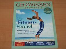 """GEO WISSEN GESUNDHEIT Nr. 7 """"Die Fitness-Formel"""" Ausgabe 2018 NEUWERTIG"""