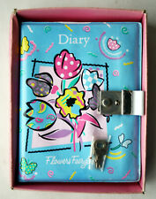 RARE VINTAGE 80'S FLOWERS FAIRYLAND PUFFY DIARY CALENDAR PASS TAIWAN NEW !