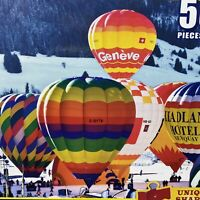 500 Piece PuzzleHot Air Balloons Switzerland Colorluxe 2012 Sealed