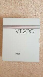 dec vt240 user manual set in box including keyboard key strips