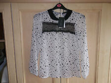 Zara Lace Collared Tops & Shirts for Women