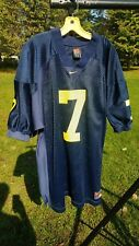 Vintage Michigan Wolverines football jersey Nike authentic 52 XXL #7