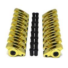 "Aluminum Roller Rocker Arms 1.7 Ratio 7/16"" Stud 396 427 454 BBC Big Block Chevy"