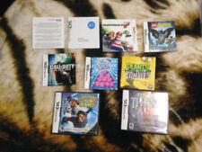 Lot  of DS Cases and Instruction Booklets No Games