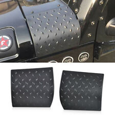 2x Body Armor Plate Side Cowl Cover Trim Fit For Jeep Wrangler Jk 2007-2015 2016