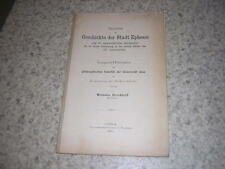 1905.Geschichte der Stadt Ephesos / Wilhelm Brockhoff.Asie mineure ephese smyrne