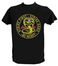 T shirt Cobra Kai Uomo Bambino Fan Art Miyagi Do Karate Kid Tee Shirt