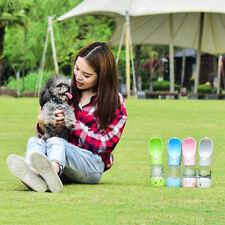 Botella De Bebida Portátil Para Mascotas Dispensador De Agua Para Alimentador