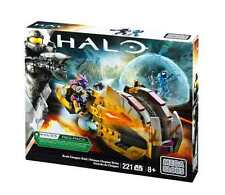 Mega Bloks Halo Brute Chopper Raid UNSC Building Set Figure Spartan New Blocks