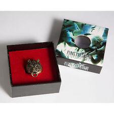 FF 7 Final Fantasy VII Cloud Wolf Ring Alloy Metal Ring Bronze + Gift Box