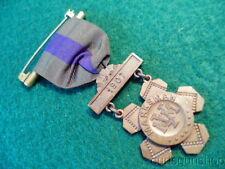 1907 Dated Mass Volunteer Militia Marksman Badge Hayes Bros