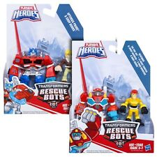 Transformers Rescue Bots HEATWAVE & KADE + OPTIMUS PRIME & CODY BURNS Figures