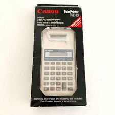 Canon Pz-D Printing Calculator Palm Printer Vintage New Open Box