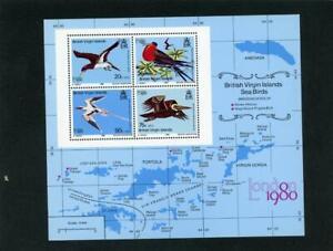 Virgin Islands 1980 Birds Scott# 388a Mint NH