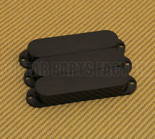 PC-0446-023 (3) Guitar Pickup Covers Stratocaster® No Holes Black Plastic