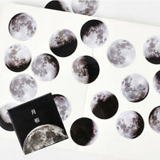 45Pcs Scrapbooking Cute Creative Moon Mini Paper Sticker Diary Label Sticker C