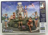 Masterbox 1:35 scale model kit figures  - Pin-Up  	 MAS35183