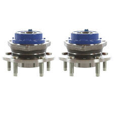 New Front or Rear Wheel Hub & Bearing Assembly Pair Set For Chevy Pontiac W/ ABS