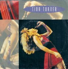 45 TOURS--TINA TURNER--BE TENDER WITH MY BABY--1990