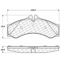 106.09490 - Centric Posi Quiet Disc Brake Pads, With Sensor, Free Shipping!