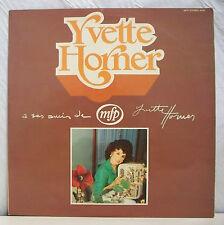 """33 tours Yvette HORNER Disque Vinyl LP 12"""" A SES AMIS - MFP 5.416 Frais Reduit"""