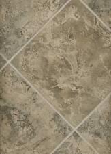 "Wallpaper Faux 7"" Diagonal Tiles Gray Taupe Black Beige Tile Pattern"