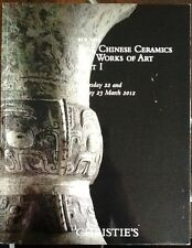 Christie's NYC fine chinese ceramics and works of art March 2012 CATALOGO ASTA