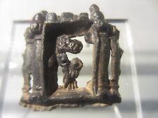 14th pilgrim badge insigne maria 14th detecting find calvarie pewter notre dame