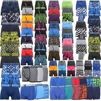3 Pack Mens Crosshatch Designer Boxers Shorts Underwear Trunks Multipack Set New