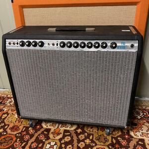 Vintage 1970s 1978 Fender Pro Reverb Expor 2x12 USA Valve Guitar Amplifier Combo