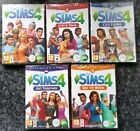 THE SIMS 4 + FOUR EXPANSION PACKS PC DVD-ROM/MAC brand new & sealed UK GAME SET!