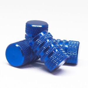 For Toyota Blue Rubber Ring Seal Universal Rim Dust Valve Stem Cover Aluminum