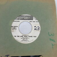 Dean Martin 45 Record I'm The One Who Loves You Born to lose vintage Music