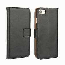 Shockproof Wallet Flip Leather Case Cover Stand Card Pocket for Samsung & iPhone