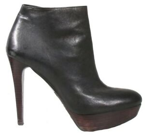 STUART WEITZMAN Platform Leather Booties (SIZE 8.5)