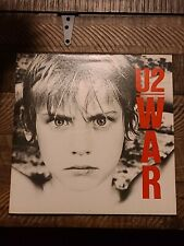 U2 - War (1983) Vinyl LP •PLAY-GRADED• Sunday Bloody Sunday, Bono