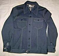 Vtg Men's (106 PARIS) 1970s Dark Blue Leisure Suit Disco Jacket and Pants