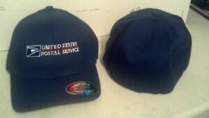 POST OFFICE FLEXFIT DARK NAVY WOOL BLEND EMBROIDERED LOGO ON FRONT 2 SIZES
