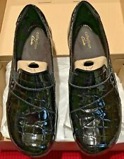 Collection by Clarks May Marigold Black Patent 7.5 W 5 E 38