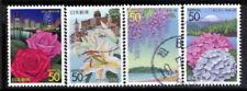 R633 Japanese Stamps 2004 Kanagawa - Flowers used