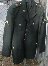 U S Military Surplus Coat Men's Army Green Enlisted