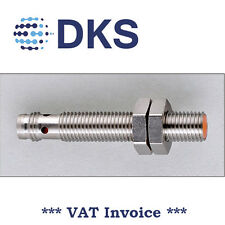 IFM IE5287 Inductive Sensor M8 DC PNP NO 2mm 000263