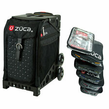 Zuca MYSTIC Sport Insert Bag & Black Frame and Packing Pouch Set