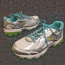 Avia Avi Pulse Women Athletic Sneakers Running Shoes Sz 7.5W Eu38.5 Gray Silver